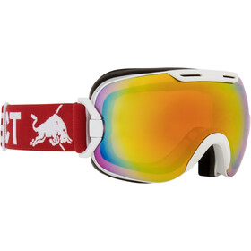 Red Bull SPECT Slope Lunettes de protection, white/red snow